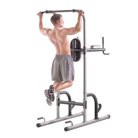Man Exercising Pull Ups