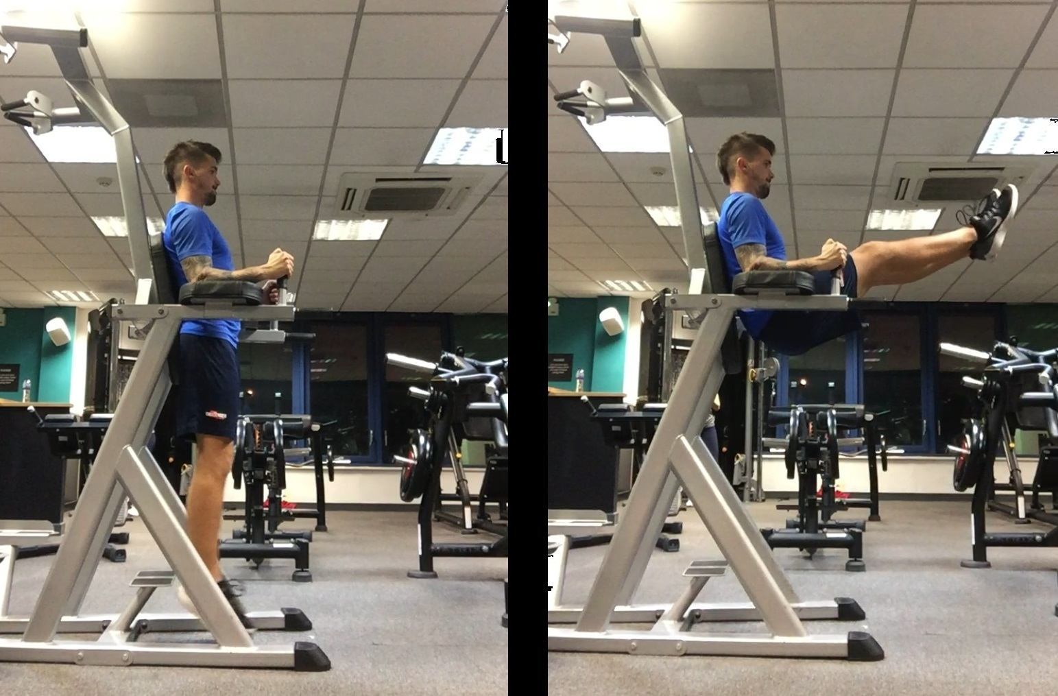 Power Tower Leg Raises