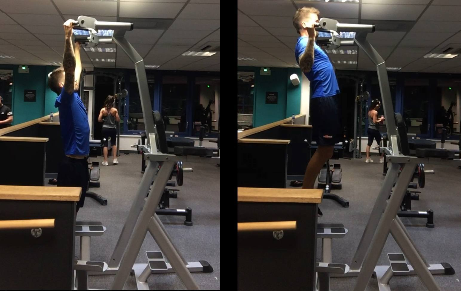 Power Tower Pull Ups