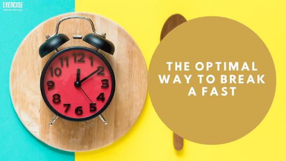 optimal way tp break a fast