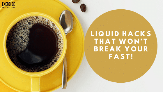 Liquid Hacks That Won't Break Your Fast!