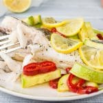 Keto Mediterranean Fish Parcels