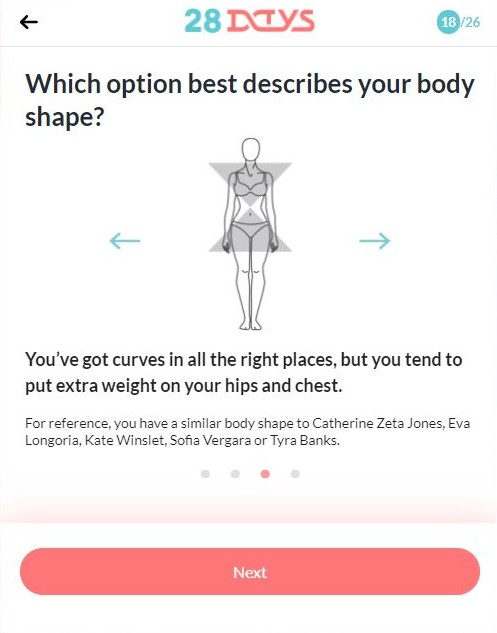 28 Day Perfect Body DNA Quiz Shape
