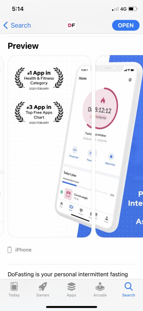DoFasting App Review