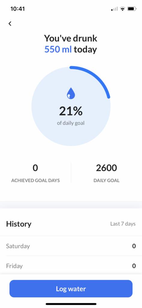 DoFasting Water Tracker
