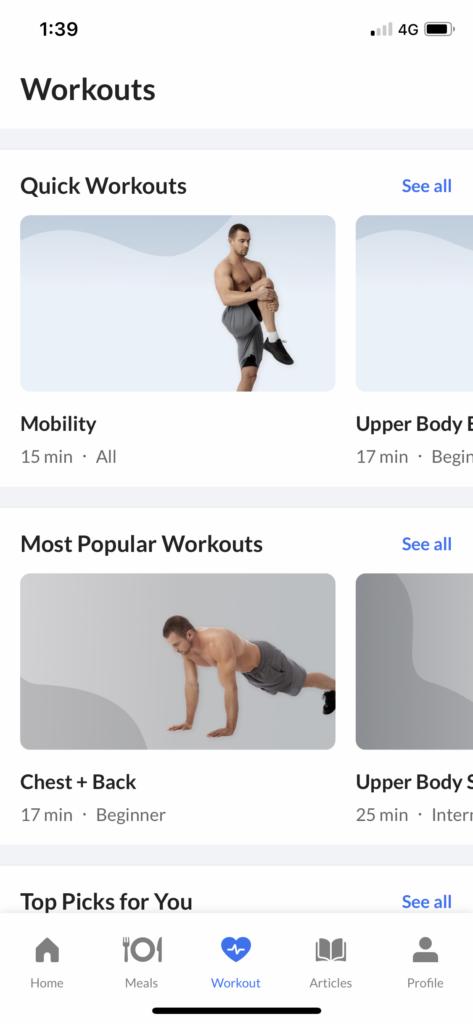 DoFasting Workout Programs