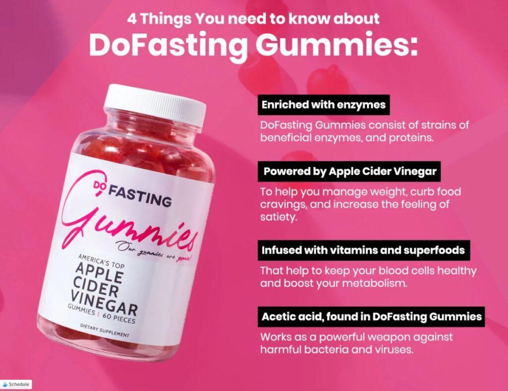 DoFasting Apple Cider Gummies